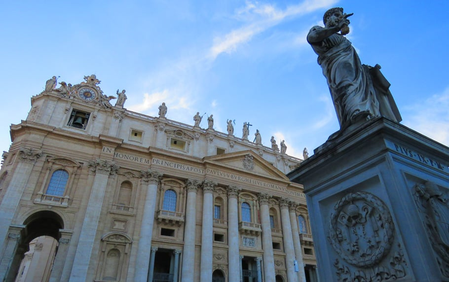 St. Peter's Square, Vatican. Why Rome is incredible