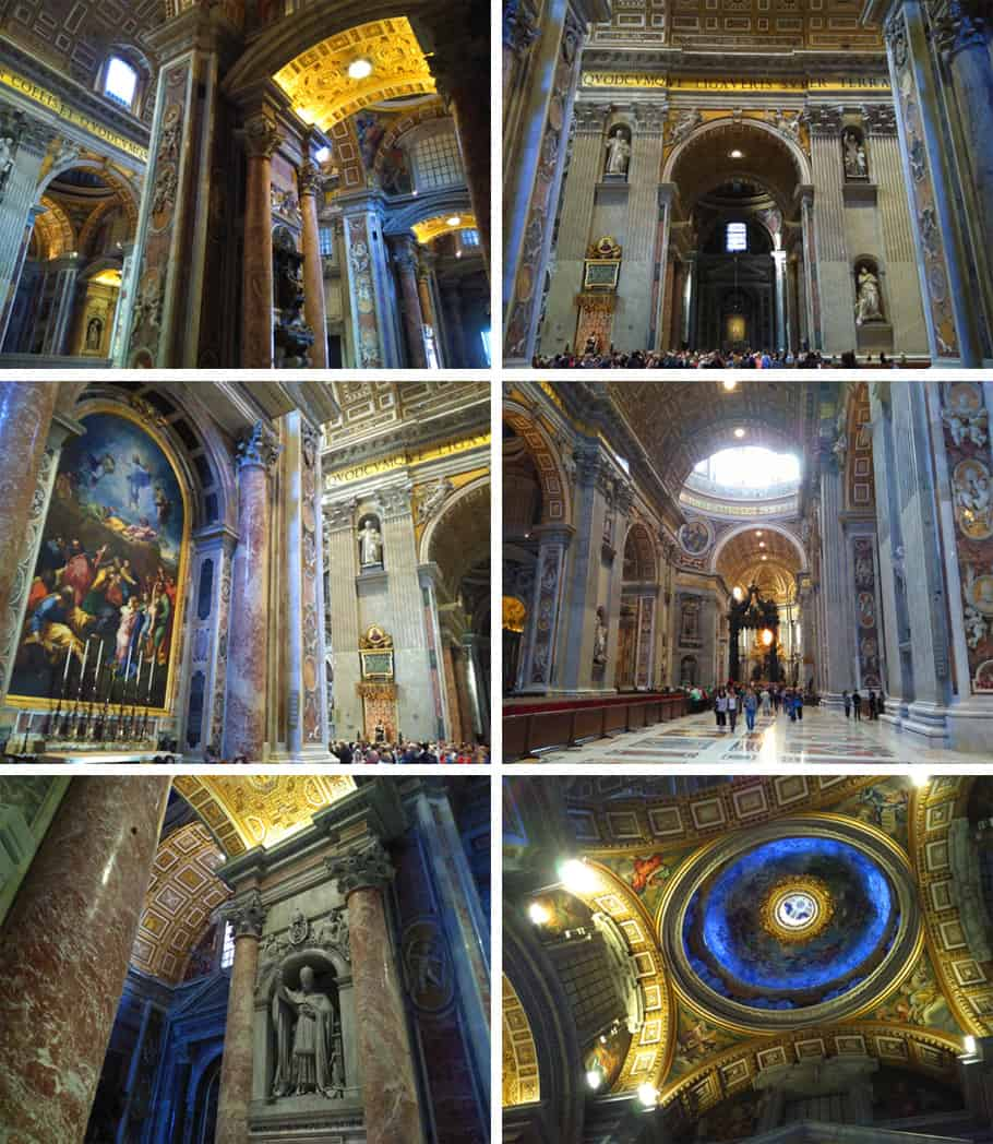 vatican city, St. Peter's basilica compilation