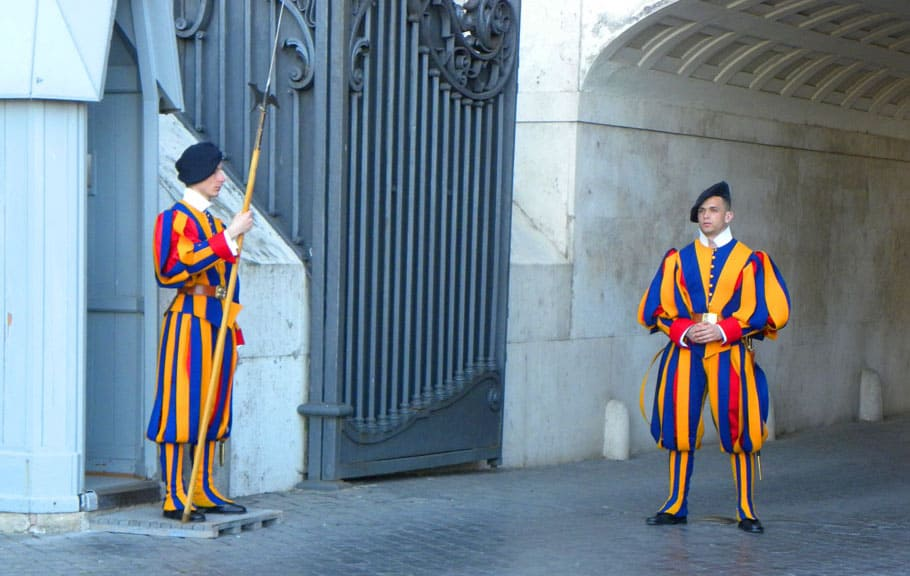ridiculous Vatican outfits