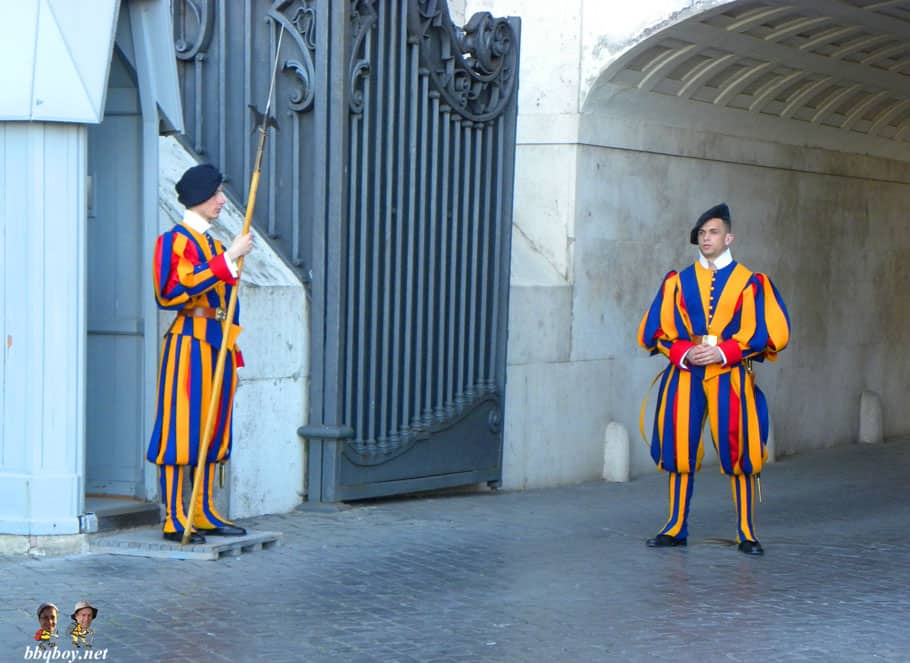 vatican city guards