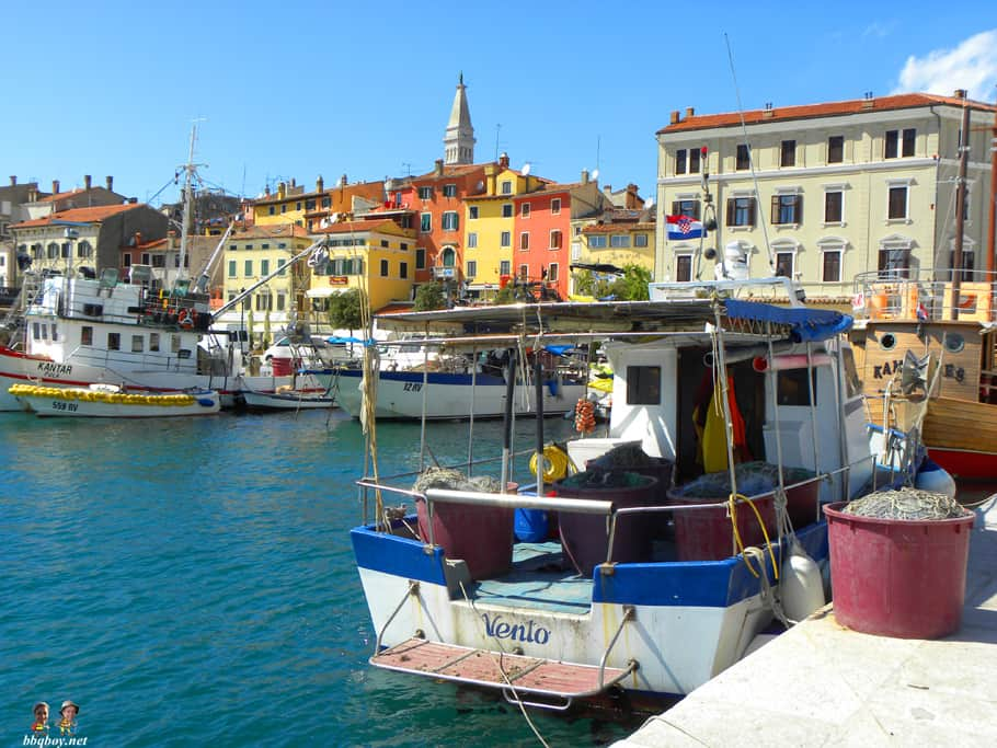 fishing boat, rovinj