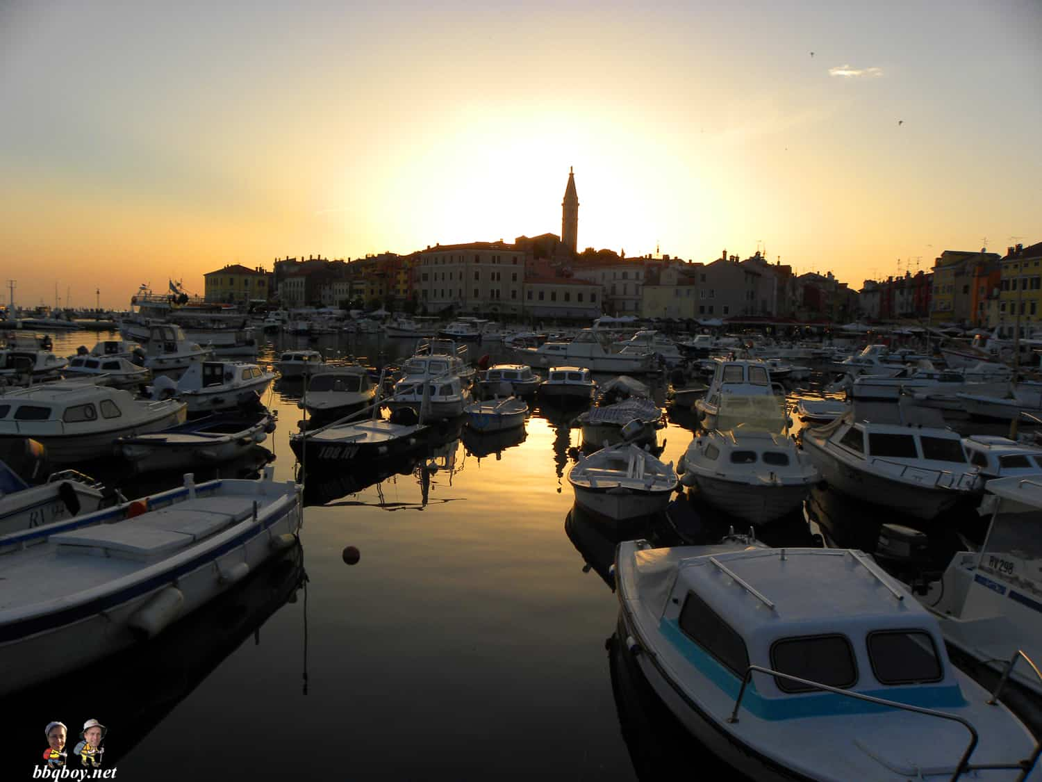 sunset in rovinj, croatia (2)