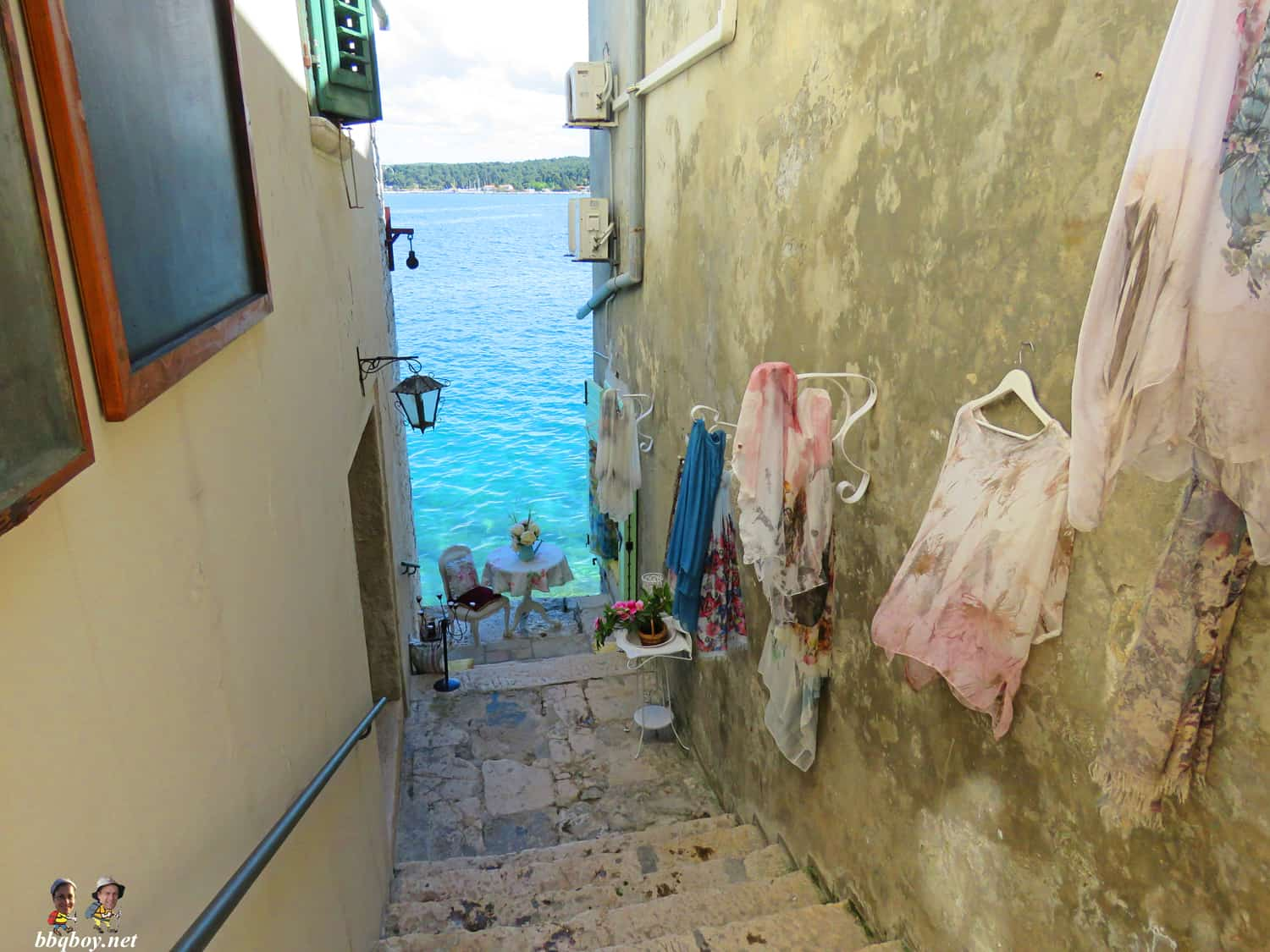 views in rovinj, croatia