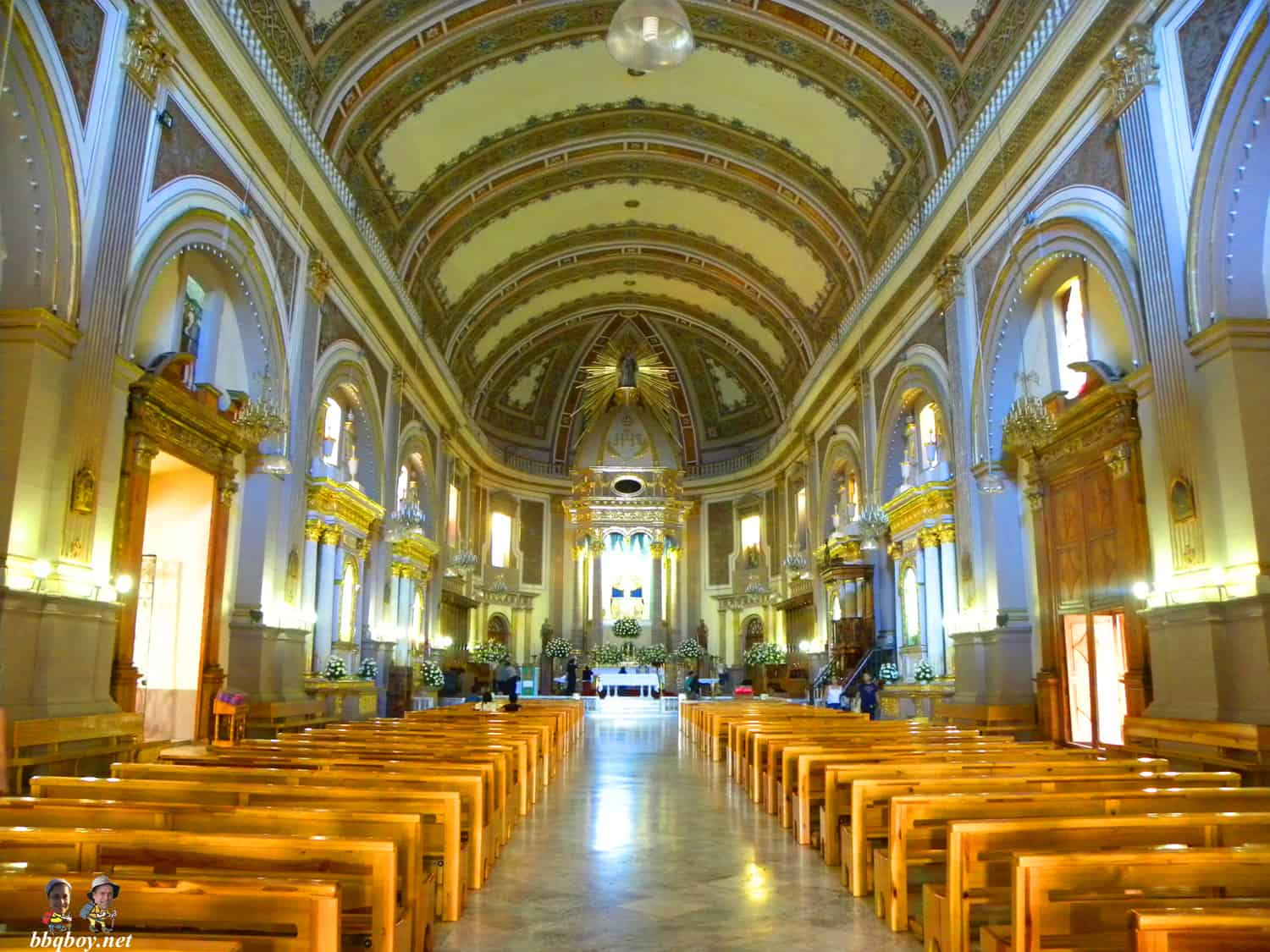 Church of Our Virgin of Health (Basilica de Nuestra Senora de la Salud) interior, Patzcuaro, Mexico