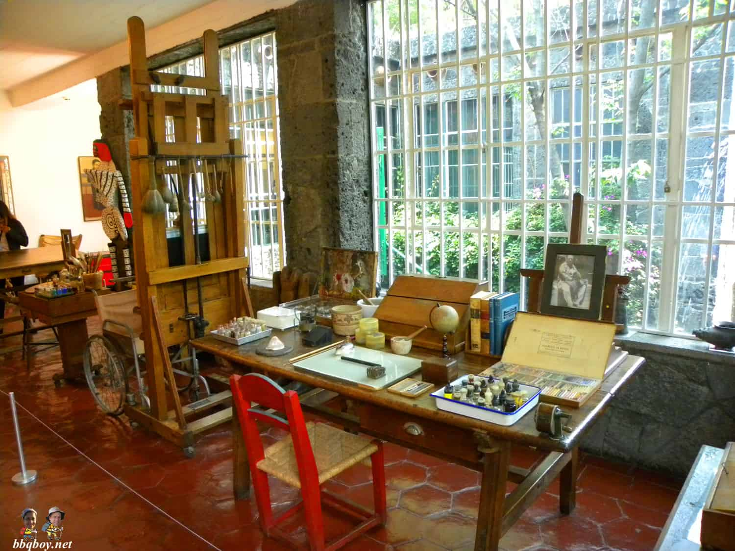 Frida's workshop