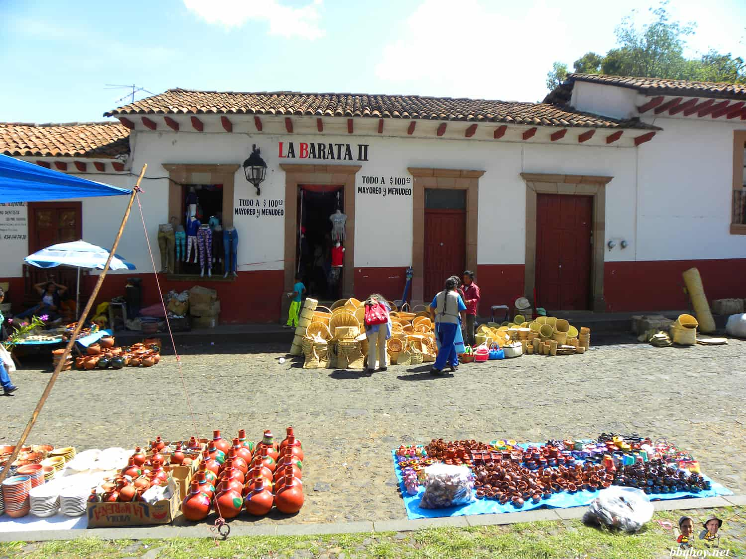 Friday market in Patzcuaro, Mexico (1)