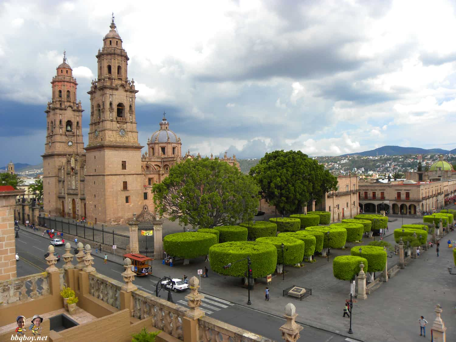 Morelia Cathedral views