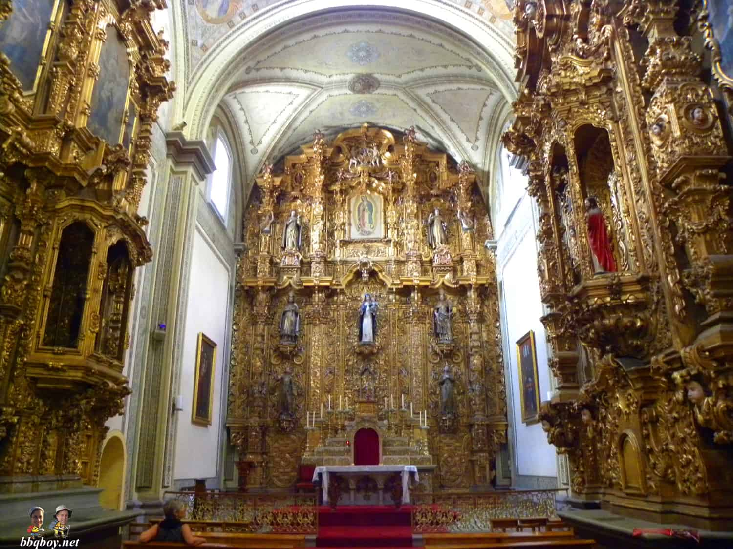 The Church of Santa Rosa de Lima, morelia
