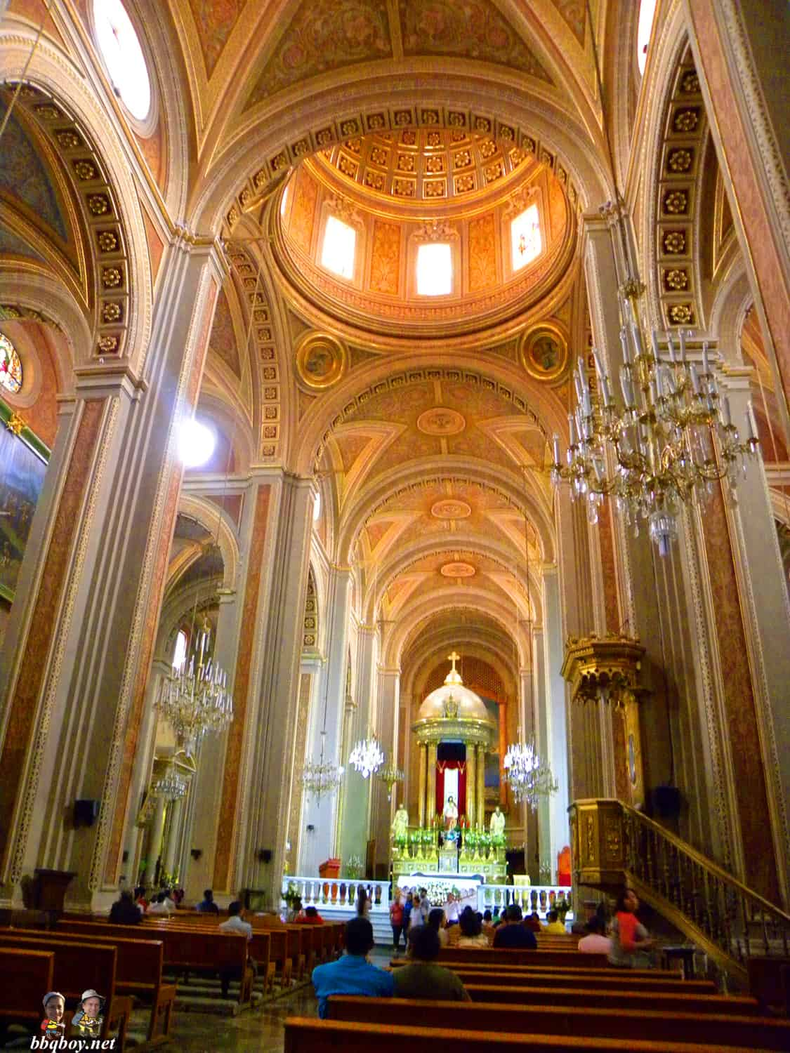 morelia cathedral interior