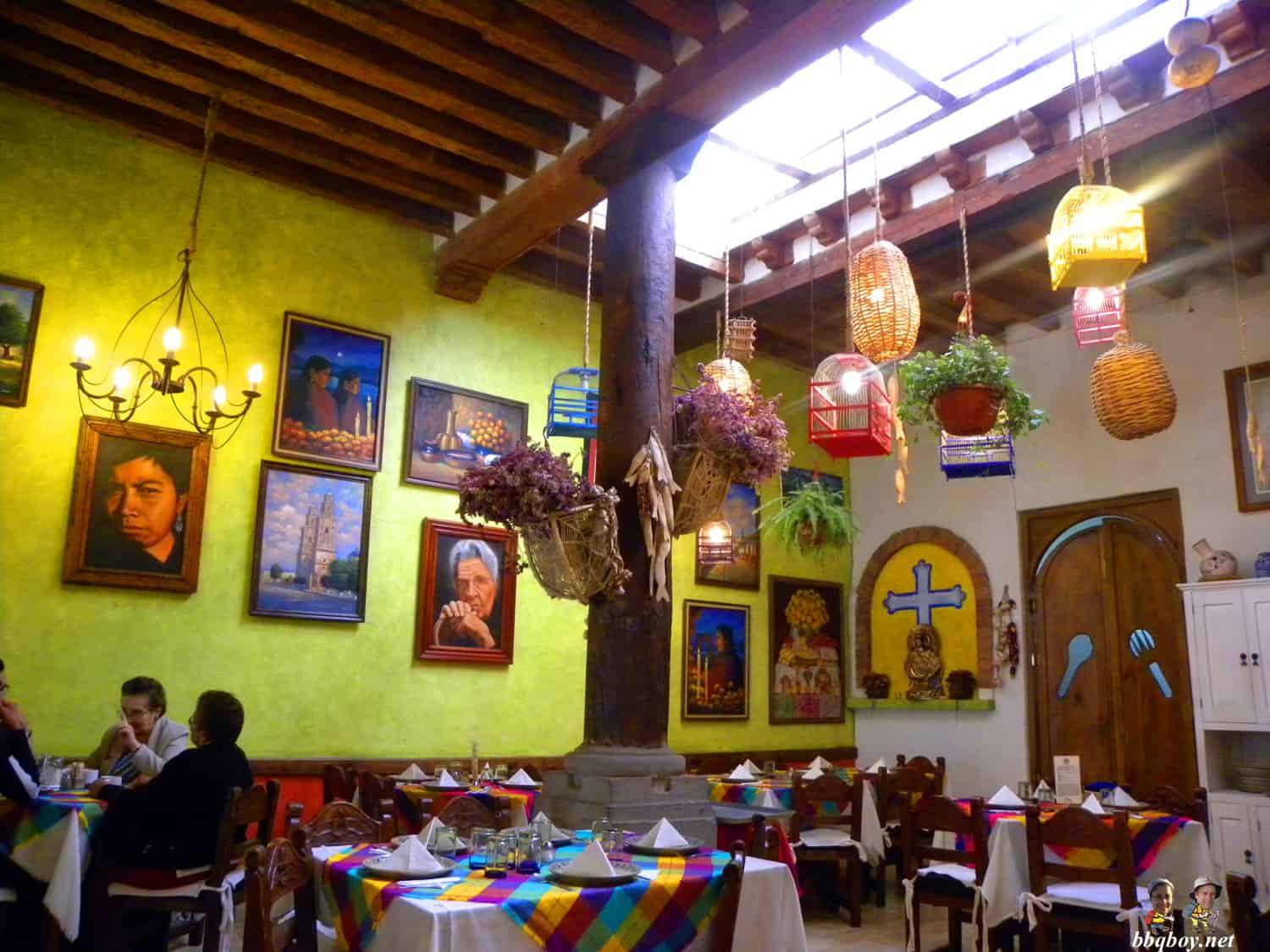 restaurant el patio, patzcuaro