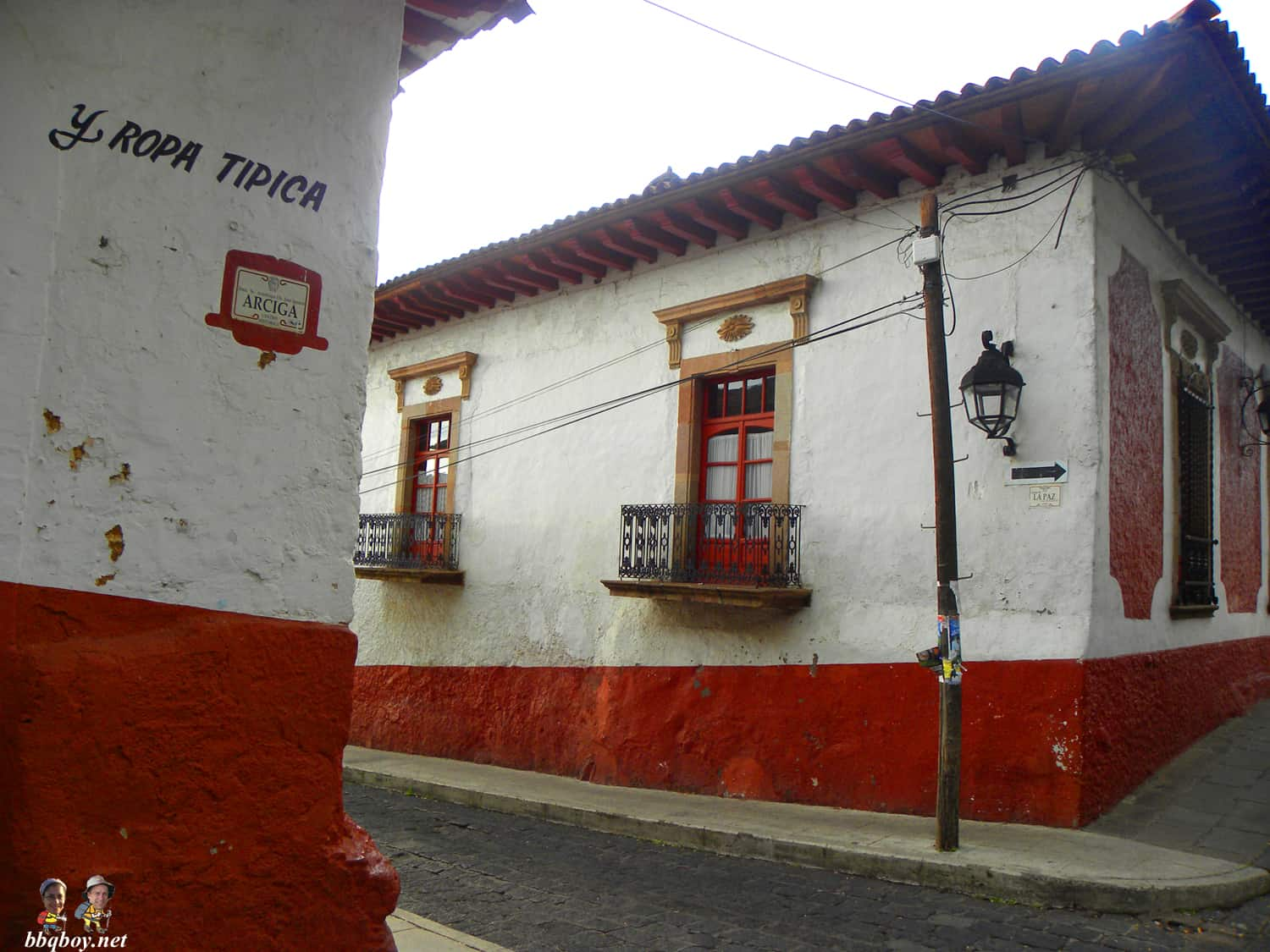 streets in Patzcuaro, Mexico
