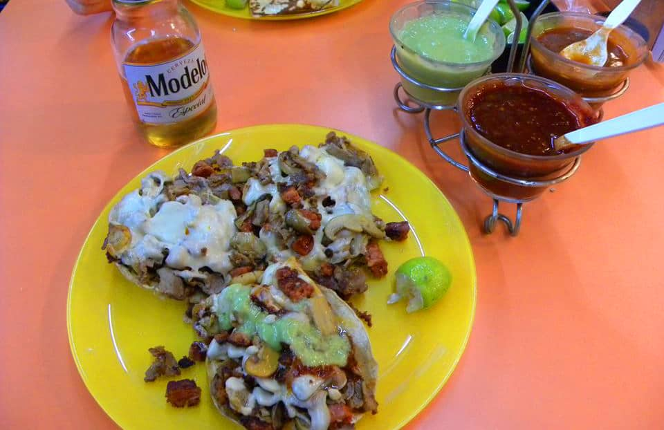 Mexican food in Mexico City