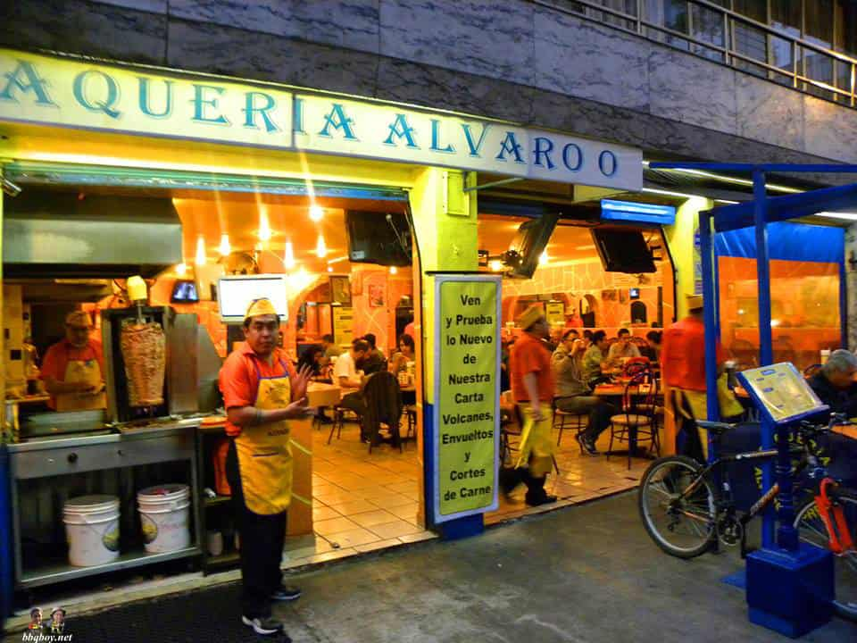 taqueria in mexico city, mexico