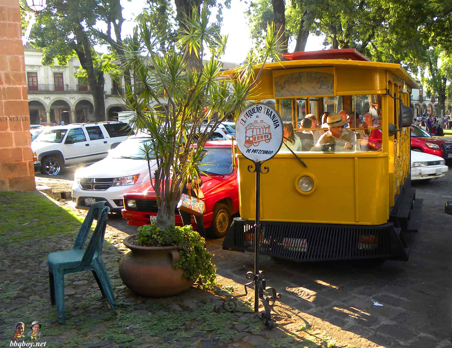 tourist train patzcuaro