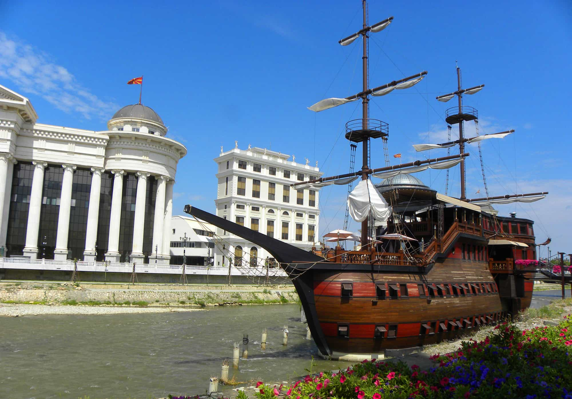 Skopje. Why Skopje is one of the Strangest Places we've been