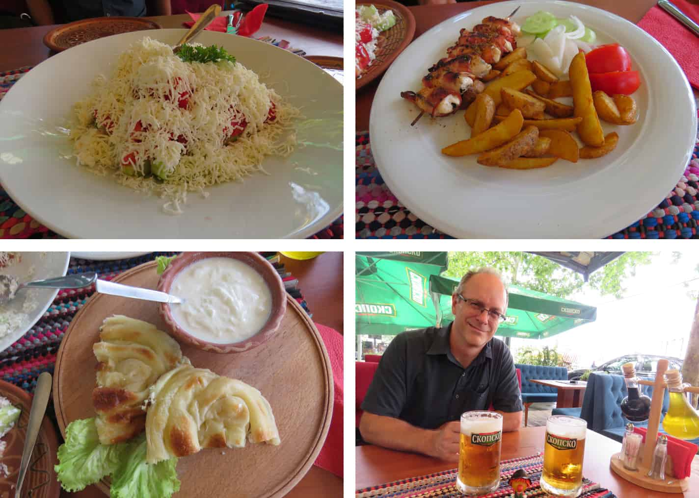 food and drink in Skopje, Macedonia