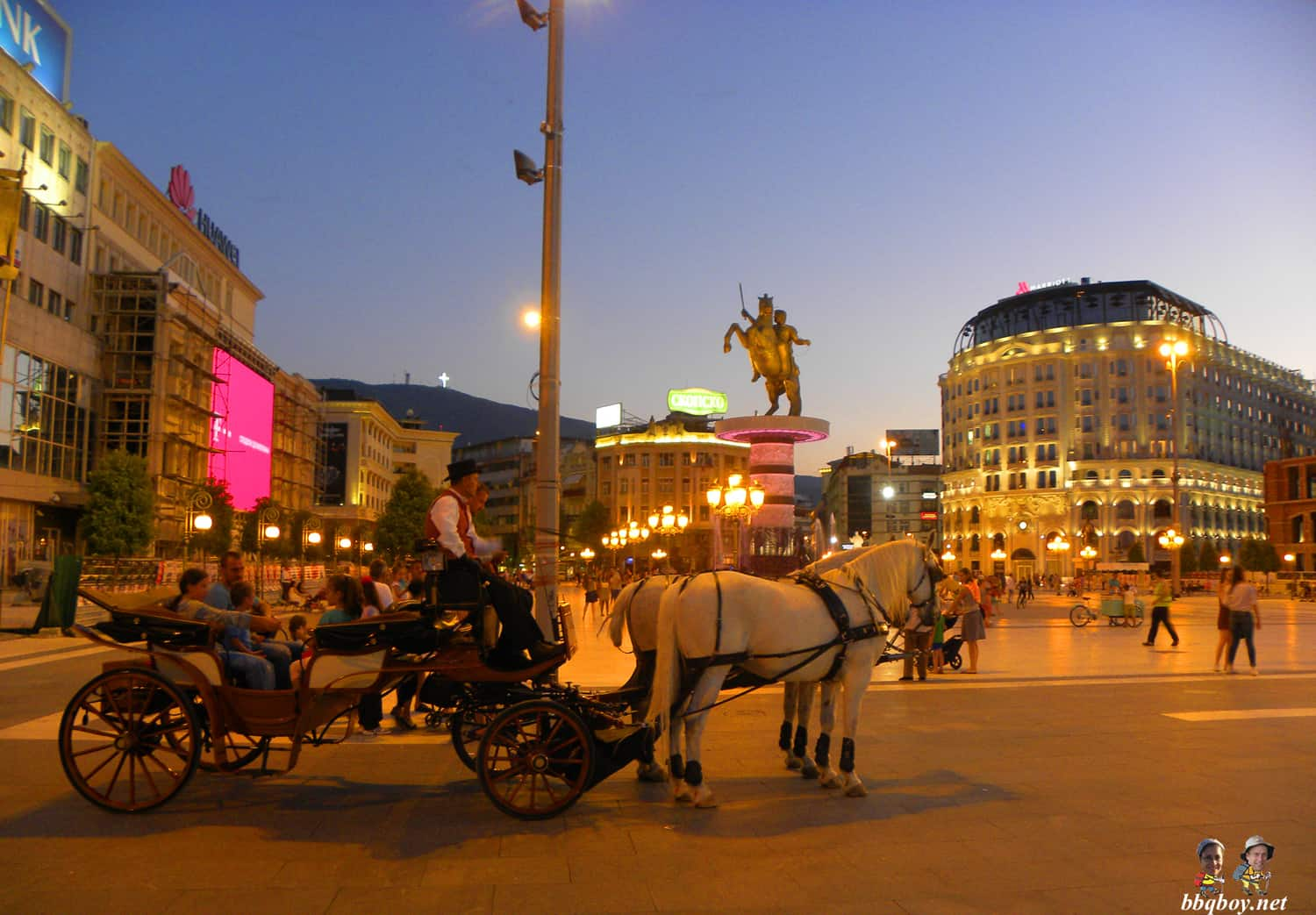 horsedrawn carriage, skopje