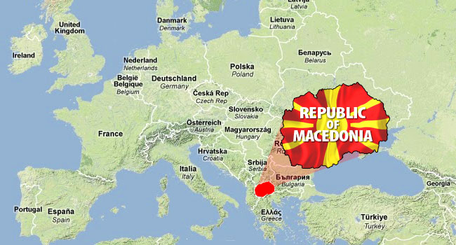 Why Skopje is one of the Strangest Places we've been. Map
