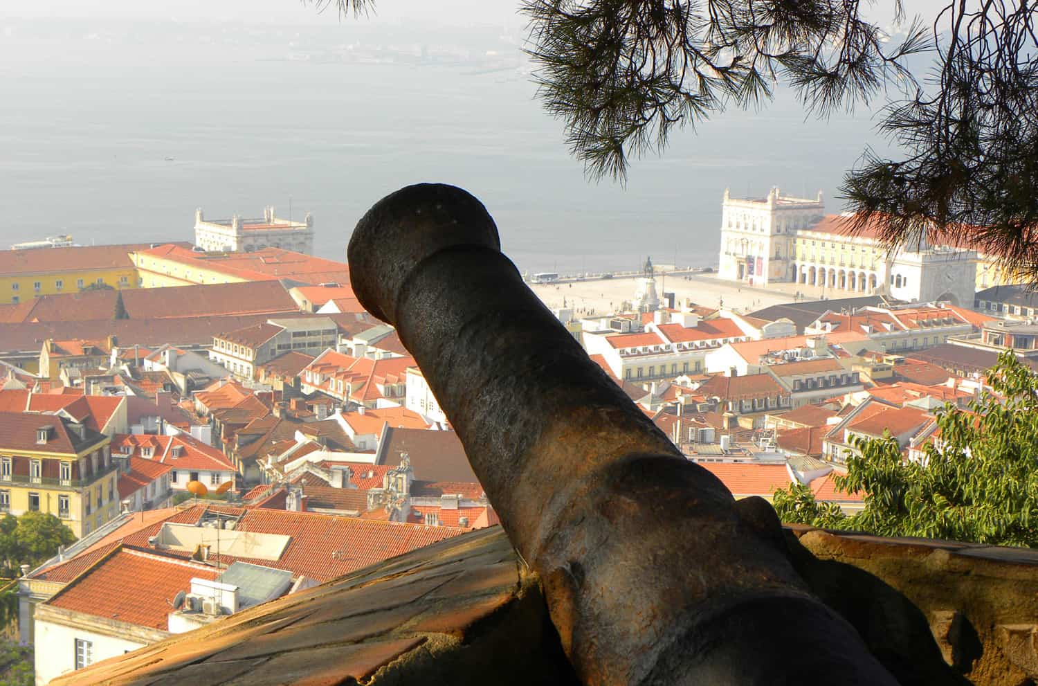 views from São Jorge Castle, Lisbon