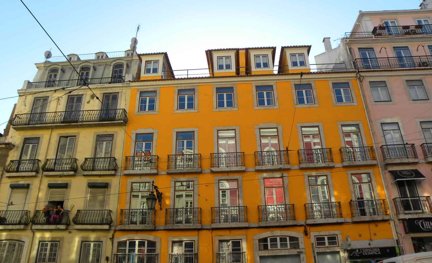 buildings in Lisbon