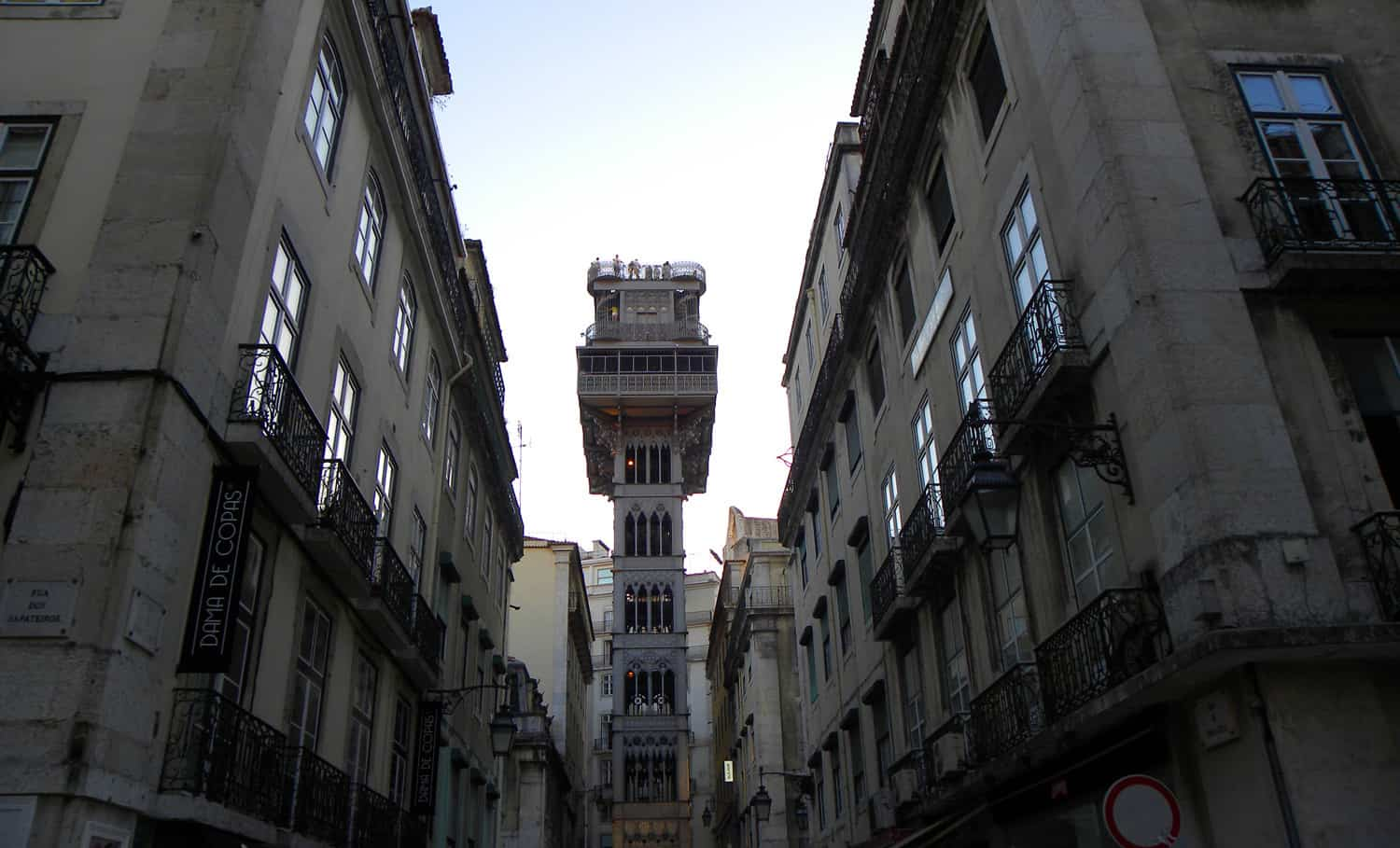 Elevador de Santa Justa. Photo Essay on Lisbon, Portugal. And why we were happy to leave…