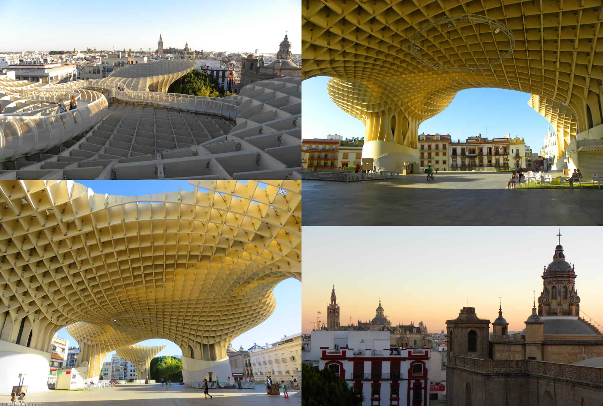 metropol-parasol-seville. What to See in Seville - and how to do it on a budget