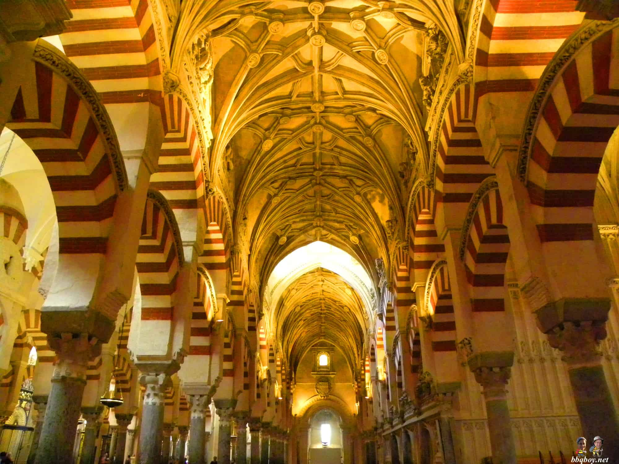 C rdoba spain and the mezquita one of the most for Interior mezquita de cordoba