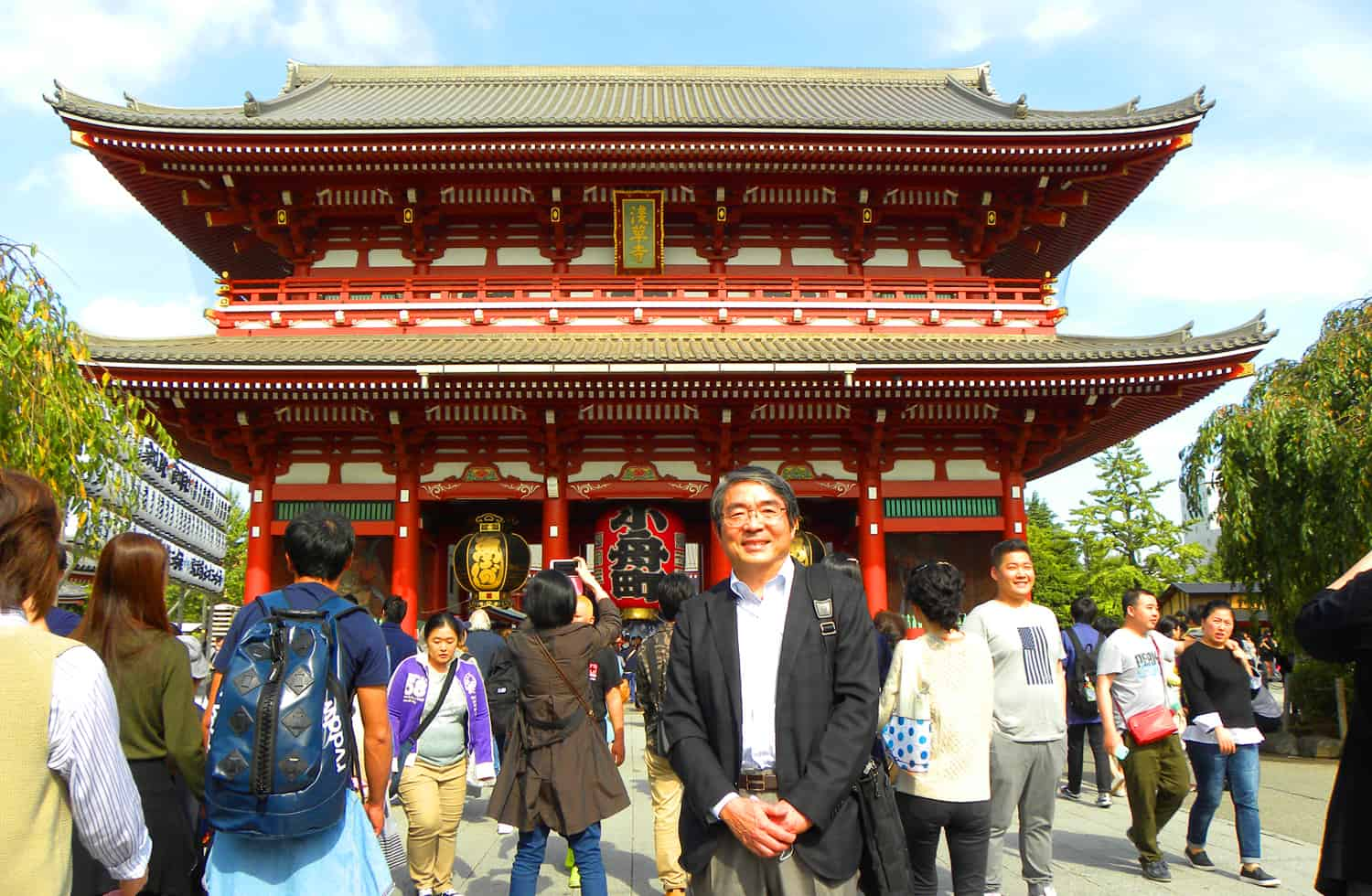 Our guide in Tokyo. How to see Tokyo with a Free Volunteer Guide