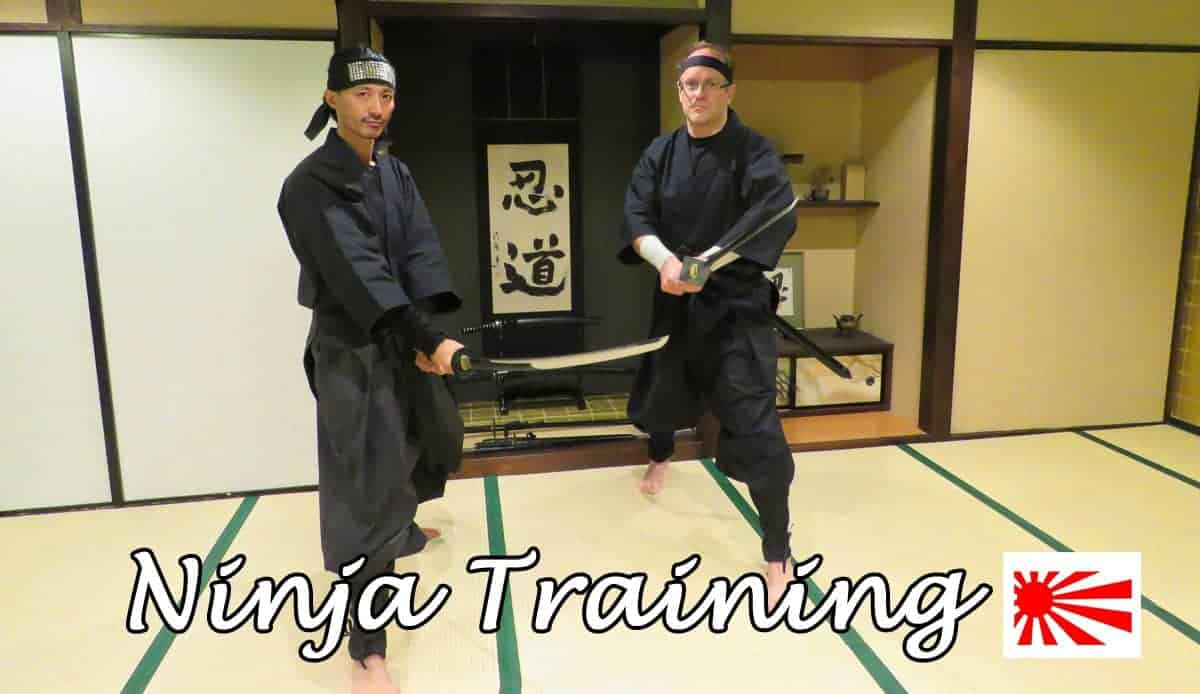 Ninja training in Kyoto