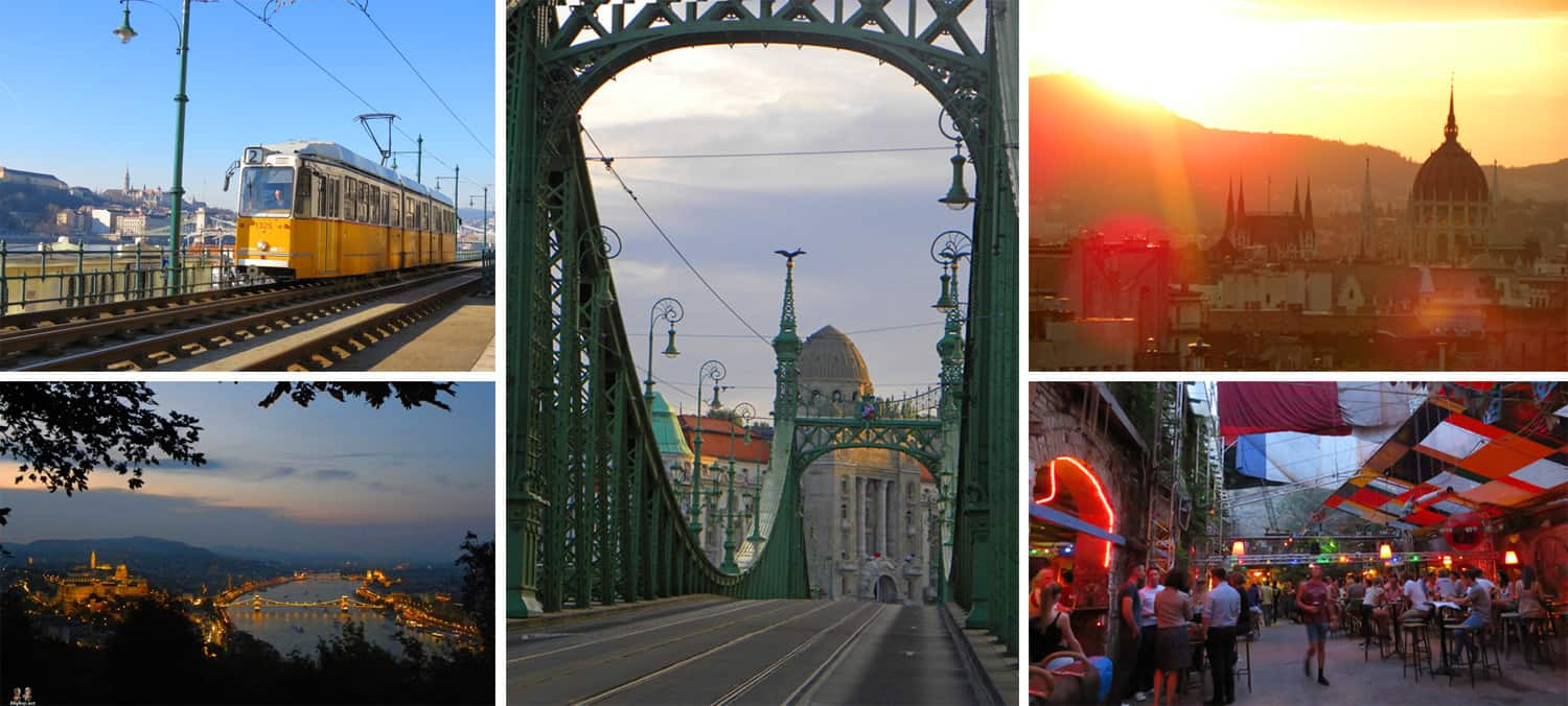"images of Budapest. The 4 places on our ""Expat base"" shortlist"