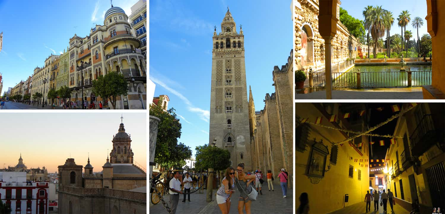 "images of seville, Spain. The 4 places on our ""Expat base"" shortlist"