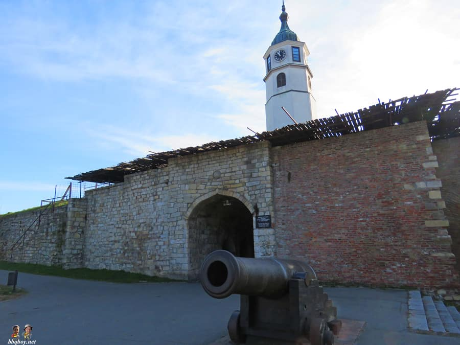 Canon at Belgrade fortress