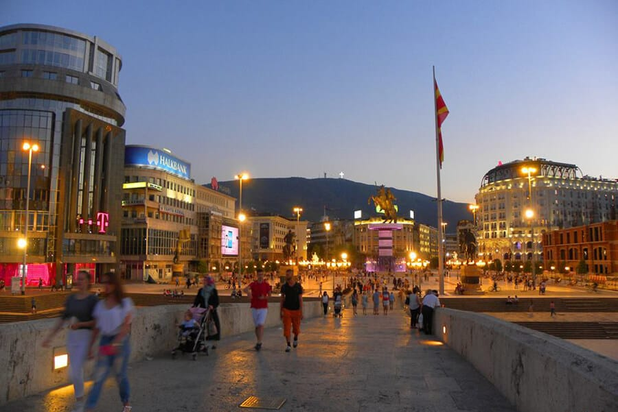 Skopje, Macedonia. Our Favorite Photos from a year of travel