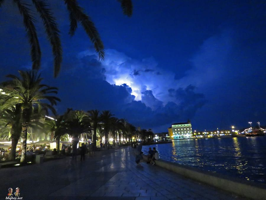 Summer Thunder in Split (3)