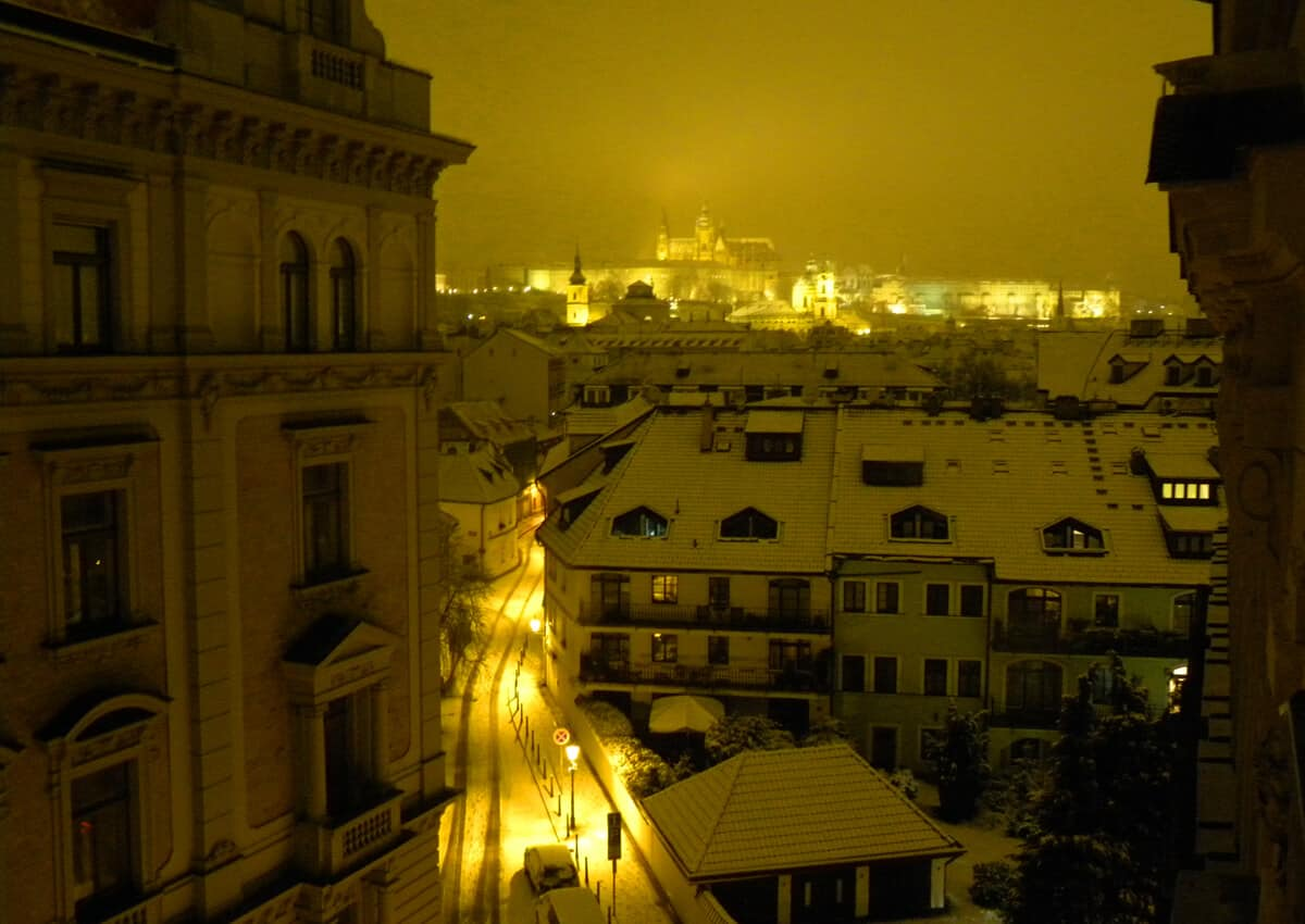 Winter in Prague