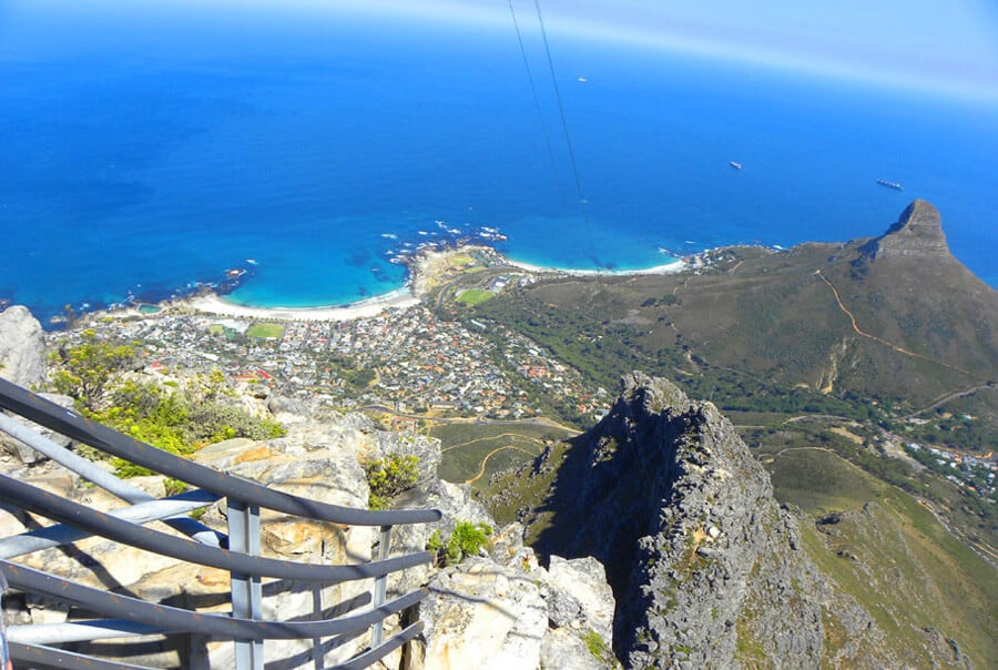 Table mountain views. Our Favorite Photos from a year of travel