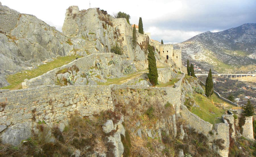 How to get to Klis fortress
