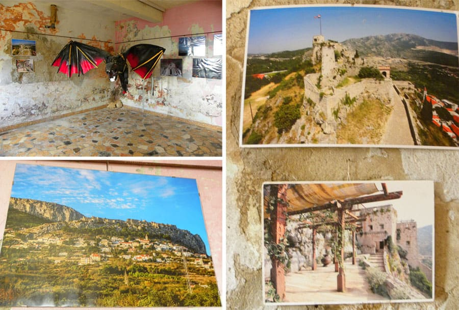 game of thrones room at Klis