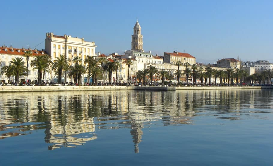 views on Palace, split