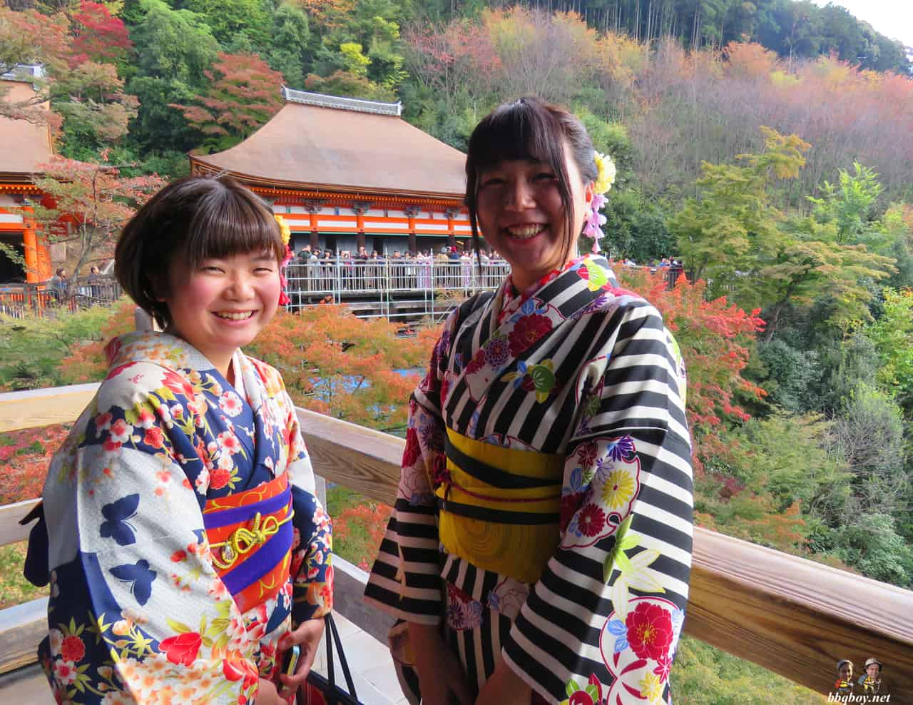 girls in Kyoto