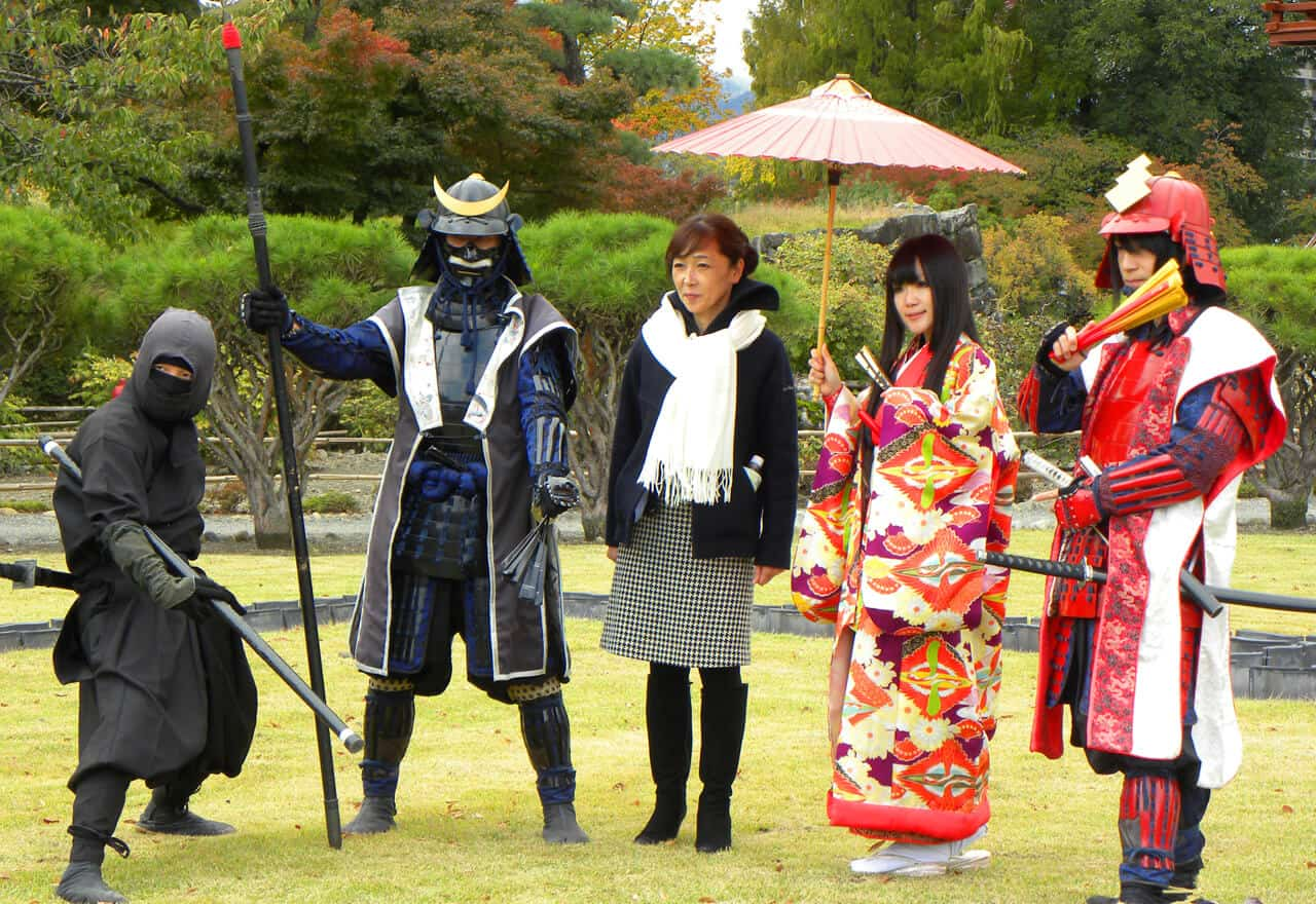 dressing up in Japan