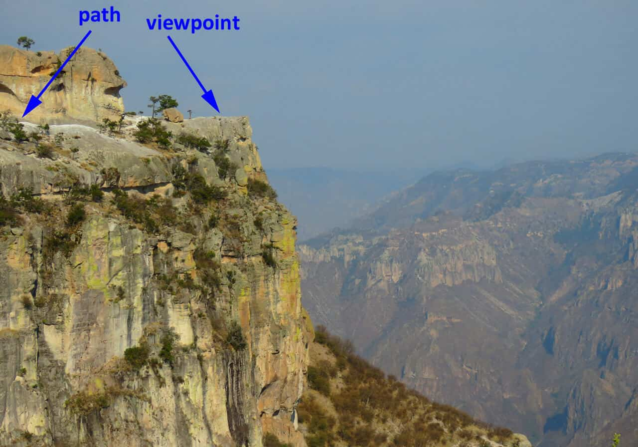 hiking. Divisadero – the highlight of the Copper Canyon