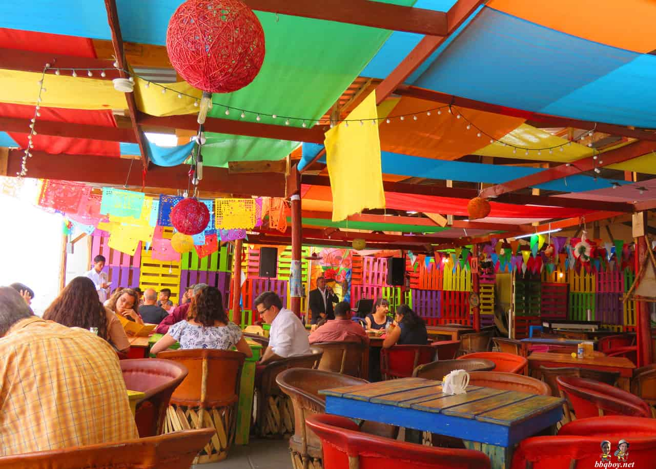 colourful restaurant in chihuahua