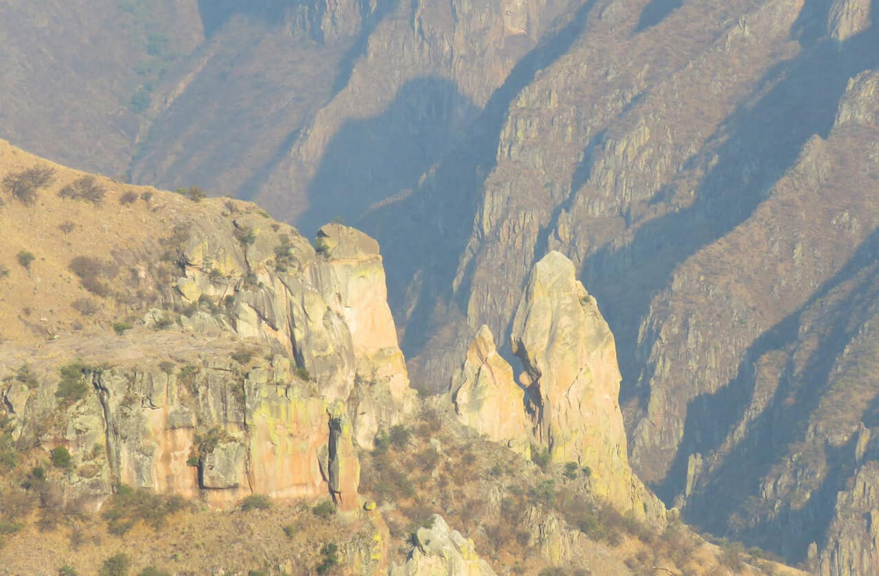 views of the copper canyon, Mexico