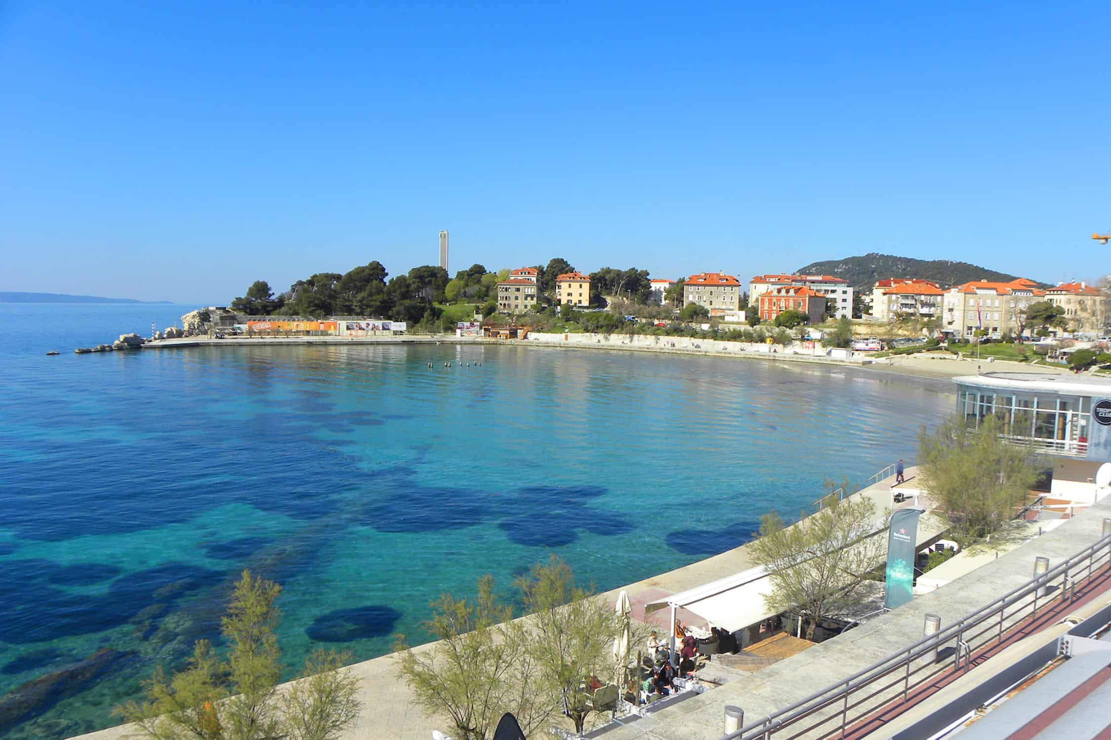 Bacvice beach. Rent our Apartment in Split!