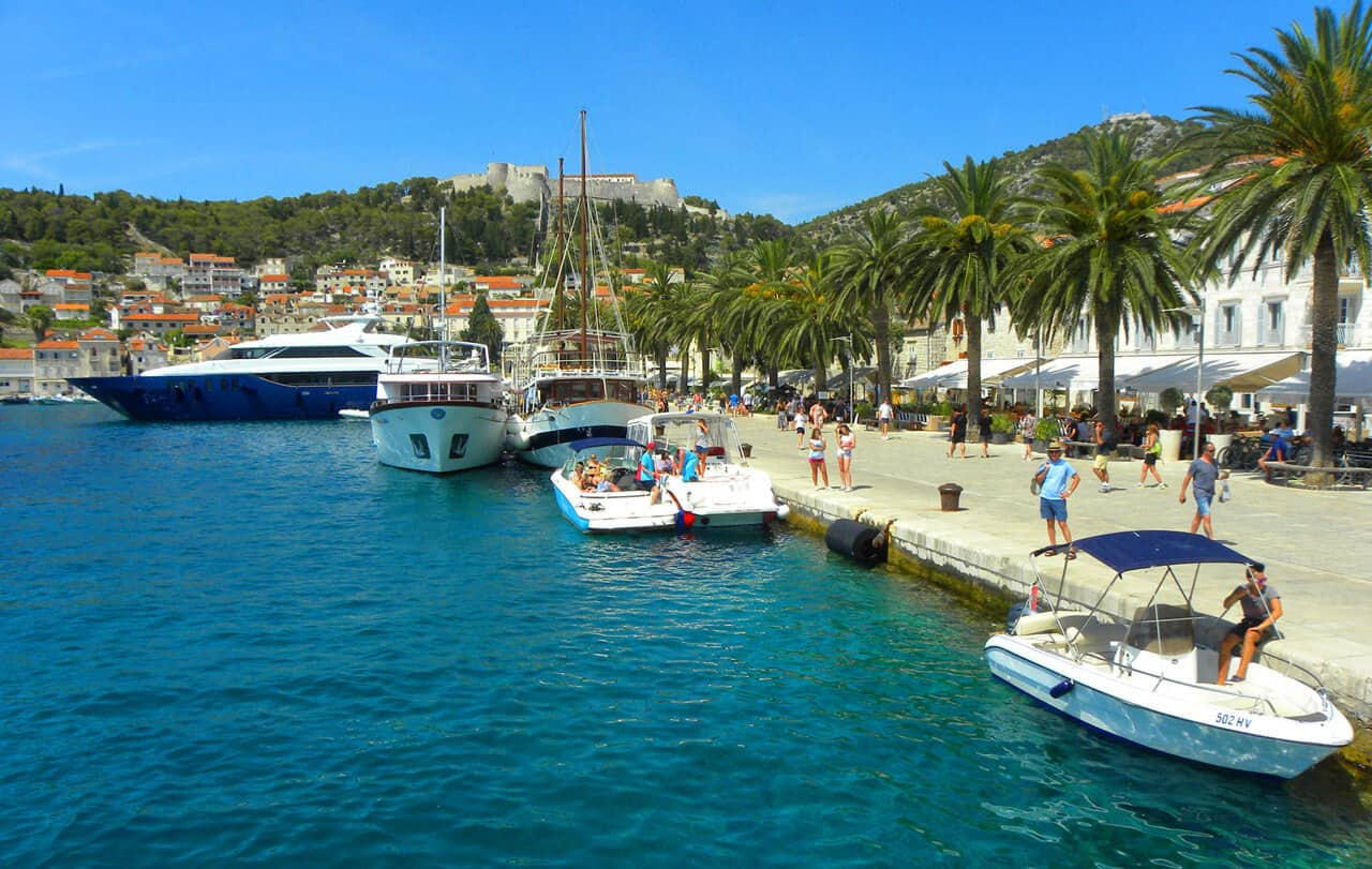 harbor and fortress in Hvar