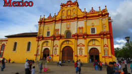 The colours and churches of San Cristobal de las Casas, Chiapas. And thoughts of living there as an Expat.
