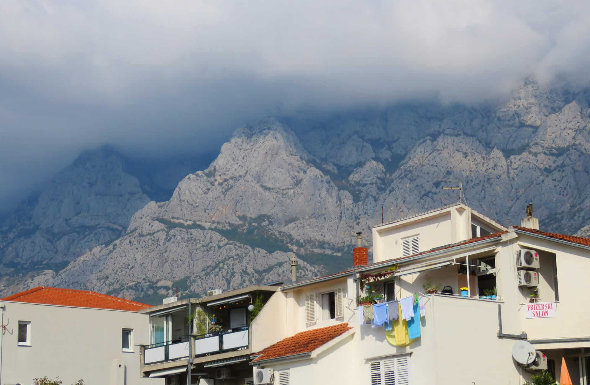 mountain views, Makarska