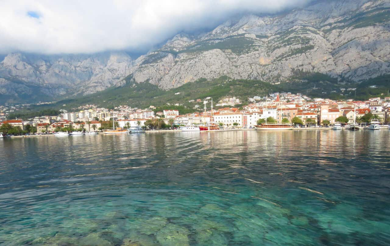 harbor views, Makarska