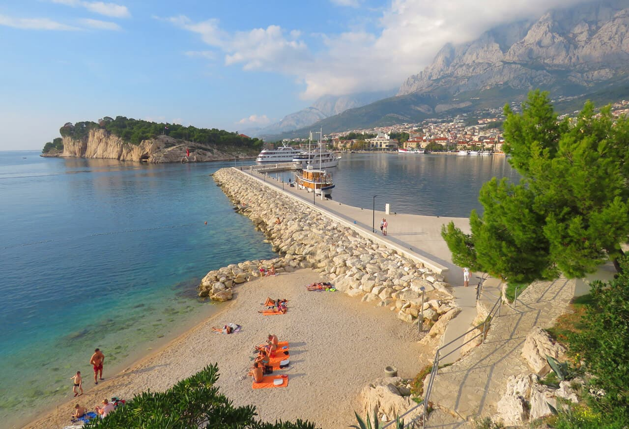 beautiful Makarska, Croatia
